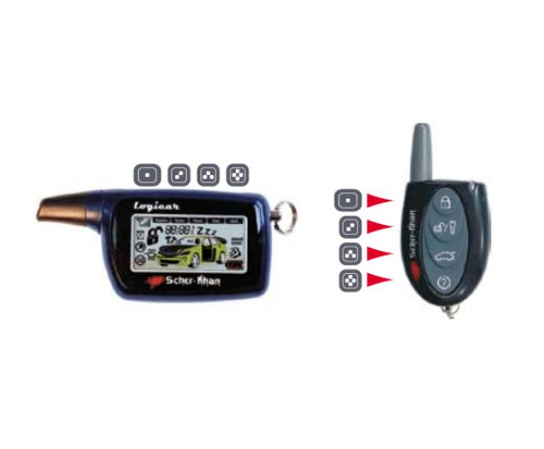 Особенности сигнализации Шерхан Логикар 1 и подробная инструкция по установке и эксплуатации